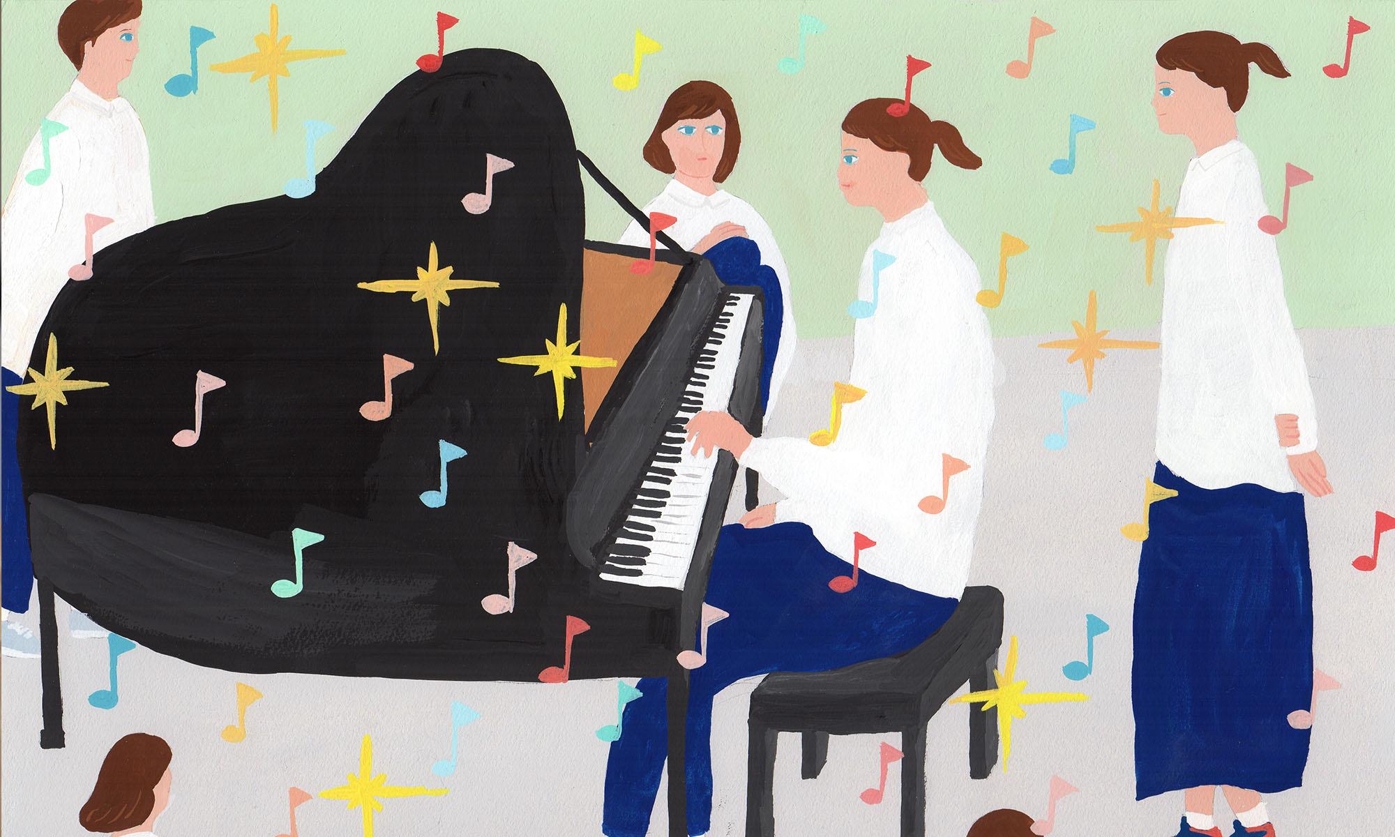 ワンハンドピアノレッスン